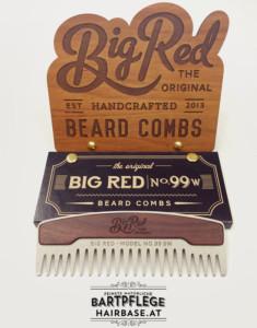 Metallkamm Big Red No.99 SW von Big Red Beard Combs
