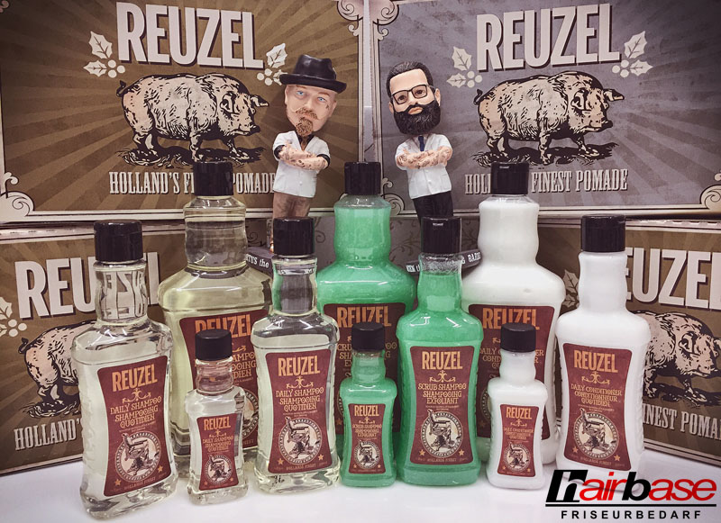 Reuzel Shampoos und Conditioner