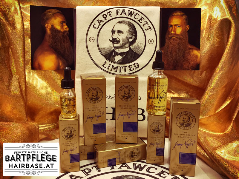 The Million Dollar Beard Oil von Captain Fawcett
